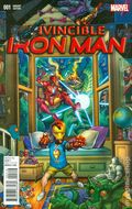 Invincible Iron Man (2015 2nd Series) 1Q