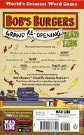 Bob's Burgers Grand Opening Mad Libs SC (2018 Penguin Books) 1-1ST