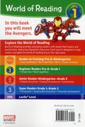 World of Reading: These are the Avengers SC (2018 Marvel Press) Level 1 1-1ST