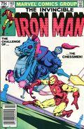 Iron Man (1968 1st Series) Canadian Price Variant 163