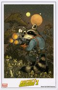 Rocket Raccoon Art Print (2014 Marvel) PRINT#01
