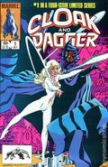Cloak and Dagger (1983 Marvel 1st Series) 1BUBBLE