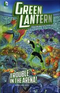 Green Lantern The Animated Series Trouble in the Arena HC (2014 Stone Arch Books) 1-1ST