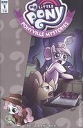 My Little Pony Ponyville Mysteries (2018 IDW) 1A