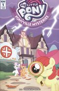 My Little Pony Ponyville Mysteries (2018 IDW) 1B