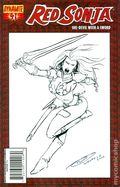 Red Sonja (2005 Dynamite) 41BLANKSKETCH