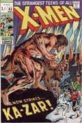 Uncanny X-Men (1963 1st Series) UK Edition 62UK