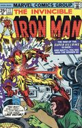 Iron Man (1968 1st Series) Mark Jewelers 77MJ