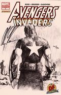 Avengers Invaders (2008 Marvel Dynamite) 4DFSIGNED