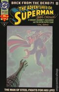 Adventures of Superman (1987) 500UDFSIGNEDB