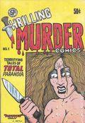 Thrilling Murder Comics (1971 San Francisco Comics) #1, 2nd Printing