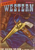 Mammoth Western (1945-1951 Ziff-Davis) Pulp Vol. 3 #6