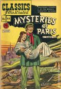 Classics Illustrated 044 Mysteries of Paris (1947) Canadian Edition HRN47
