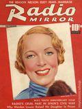 Radio Mirror (1933-1939 MacFadden) Magazine Vol. 7 #2