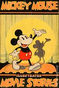 Mickey Mouse Illustrated Movie Stories HC (1931 David McKay Publishing) 1-1ST