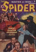 Spider (1933-1943 Popular Publications) Pulp Nov 1934