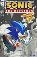 Sonic The Hedgehog (2018 IDW) 1RE