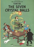 Adventures of Tintin The Seven Crystal Balls GN (1975 LBC) 1-1ST