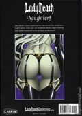 Lady Death Naughtier Artbook HC (2018 Coffin Comics) Limited Edition 1B-1ST