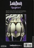 Lady Death Naughtier Artbook HC (2018 Coffin Comics) Limited Edition 1A-1ST