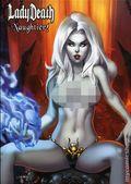 Lady Death Naughtier Artbook HC (2018 Coffin Comics) Limited Edition 1B-1ST