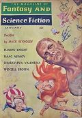 Fantasy and Science Fiction (1949-Present Mercury Publications) Pulp Vol. 24 #1