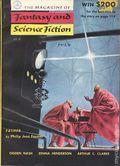 Magazine of Fantasy and Science Fiction (1949-Present Mercury Publications) Pulp Vol. 9 #1