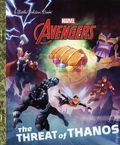 Avengers The Threat of Thanos HC (2018 A Little Golden Book) 1-1ST