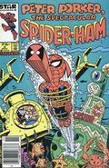 Peter Porker the Spectacular Spider-Ham (1985 Marvel/Star Comics) Canadian Price Variant 4
