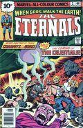 Eternals (1976) UK Edition 2UK