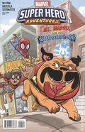 Marvel Super Hero Adventures Ms Marvel Teleporting Dog (2018) 1