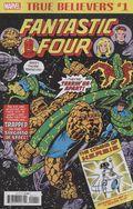 True Believers Fantastic Four Coming Of Herbie (2018) 1