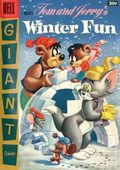 Dell Giant Tom and Jerry's Winter Fun (1954) 5-30C