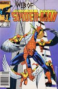 Web of Spider-Man (1985 1st Series) Canadian Price Variant 2