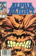 Alpha Flight (1983 1st Series) Canadian Price Variant 10