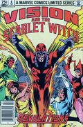 Vision and the Scarlet Witch (1982 1st Series) Canadian Price Variant 4