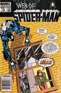 Web of Spider-Man (1985 1st Series) Canadian Price Variant 12