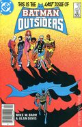 Batman and the Outsiders (1983 1st Series) Canadian Price Variant 32