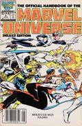 Official Handbook of the Marvel Universe Deluxe Edition (1985-1988 Marvel) Canadian Price Variant 9
