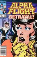 Alpha Flight (1983 1st Series) Canadian Price Variant 8