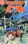 Detective Comics (1937 1st Series) Canadian Price Variant 552