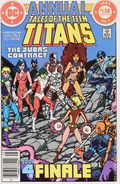 New Teen Titans (1980) Annual Canadian Price Variant 3