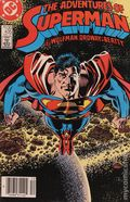Adventures of Superman (1987) Canadian Price Variant 435