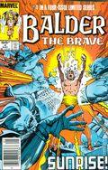 Balder the Brave (1985 Marvel) Canadian Price Variant 4
