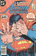 Action Comics (1938 DC) Canadian Price Variant 558