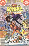 New Teen Titans (1980) Annual Canadian Price Variant 1