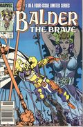 Balder the Brave (1985 Marvel) Canadian Price Variant 1