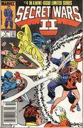 Secret Wars II (1985 Marvel) Canadian Price Variant 4