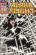 Alpha Flight (1983 1st Series) Canadian Price Variant 3