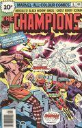 Champions (1975-1978 Marvel 1st Series) UK Edition 6UK